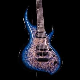 ESP Original FRX CTM FR NAMM 2020 Exhibition Guitar (Burl / Blue Black Burst)