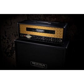 Mesa/Boogie Dual Rectifier Limited Edition 50th Anniversary 100W Head (Gold Diamondplate)