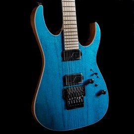 Ibanez RG5120M Prestige 6-String (Frozen Ocean) - 2019 Model with Fishman Fluence Modern Pickups