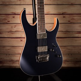 Ibanez RG5121 Prestige 6-String Dark Tide Blue Flat (2019 Model with Fishman Fluence Modern Pickups)