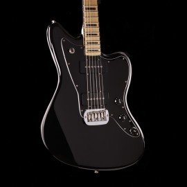 G&L USA Doheny Hardtail Jet Black Maple Fingerboard w/ Black Binding