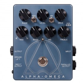 Darkglass Alpha Omega Analog Bass Preamp Pedal