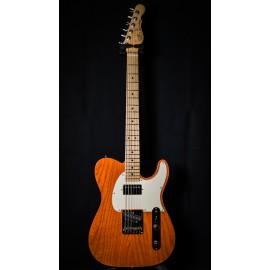 G&L USA ASAT Classic Bluesboy Clear Orange, Maple Fingerboard, Swamp Ash