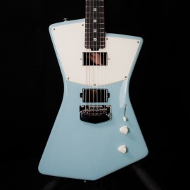 Music Man St. Vincent HH Signature Guitar (Sea Breeze, Ebony Fingerboard, Birdseye Maple Neck)