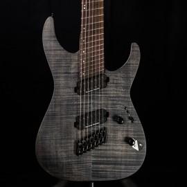 ESP LTD M-1007 Multi-Scale 7-String See-Thru Black Satin