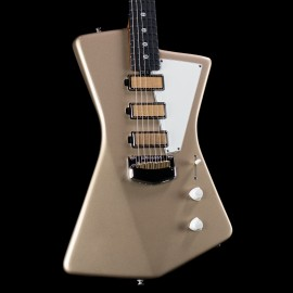 Ernie Ball Music Man St. Vincent Goldie Signature, Cashmere, Ebony Fingerboard, Reverse Headstock, Stainless Steel Frets