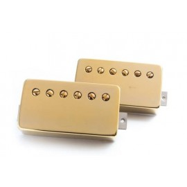 "Bare Knuckle ""Brute Force"" Humbucker Pickup Set (Gold Covered, 53mm ) - Boot Camp Series"