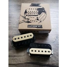 Lundgren Black Heaven 6-String Pickup Set (Zebra)