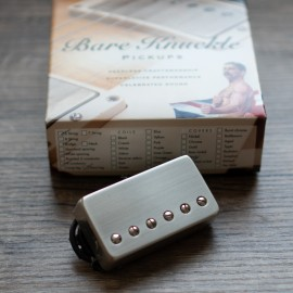 Bare Knuckle Stormy Monday 6 Bridge Pickup (Brushed Nickel Cover)