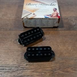 Bare Knuckle Pickups Painkiller 6 Set (Black w Black Poles)