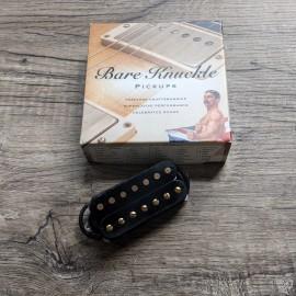 Bare Knuckle VHII 7-String Neck Pickup (Black w/ Aged Gold Screws)