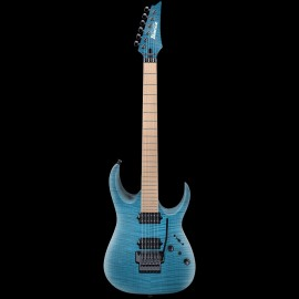 Ibanez J-Custom RGA8420 AP Limited Run - Trans Aqua Blue w/ Maple Fingerboard