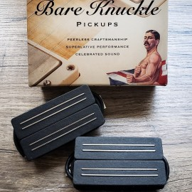 Bare Knuckle Black Hawk 6-String Pickup Set