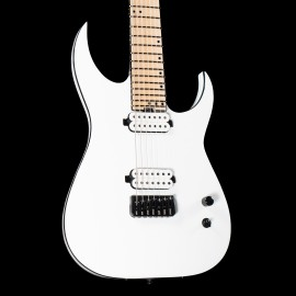 Schecter Keith Merrow KM-7 Mk-III Hybrid 7-String with FIshman KM pickups, Stainless Steel Frets, & Luminlays (Snowblind)