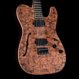 Schecter Masterworks USA PT Custom Semi-Hollow Figured Burl (Custom Shop)
