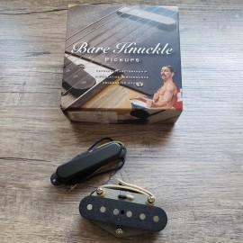 Bare Knuckle Piledriver Tele Calibrated Pickup Set w/ Black Cover