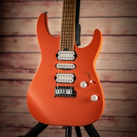 Charvel Pro-Mod DK24 HSH 2PT Satin Orange Crush w/ Carmelized Maple Fingerboard