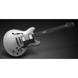 Framus Mayfield Custom Pro Mahogany (Silver Satin, Tiger Inlay, Ebony Fingerboard)