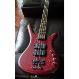 Warwick Corvette $$ 4-String Burgundy Red Satin [Made in Germany]