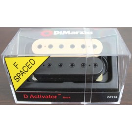 DiMarzio D-Activator 6-String Neck PIckup DP219 (Black/Creme, F-Spaced)