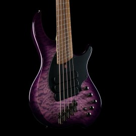 Dingwall C3 Combustion 5-String Bass Ultraviolet Quilt w/ Pao Ferro Fingerboard & Case