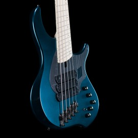 "Dingwall NG3 Combustion 5-String Adam ""Nolly"" Getgood Signature Bass w/ Soft Case (Black Forest Green)"