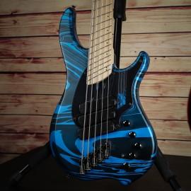 "Dingwall NG3 5-String Adam ""Nolly"" Getgood Signature Bass (Laguna Seca Blue Swirl)"