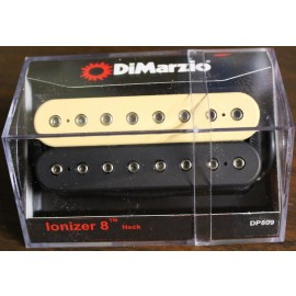 DiMarzio Ionizer 8-String Neck Pickup DP809 (Black & Creme)