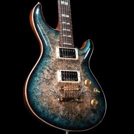 ESP Custom Shop Mystique Exhibition Limited NAMM 2020 Guitar (Burl Top Green Black Burst)