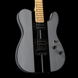 Schecter USA PT GT Special HH (Metallic Silver w/ Black Stripes)