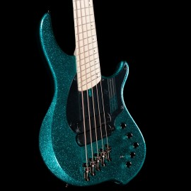 "Dingwall NG2 Combustion 5-String Adam ""Nolly"" Getgood Signature Bass w/ Soft Case (Gloss Aquamarine Metalflake)"