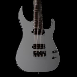 Schecter Keith Merrow KM-7 Mk-III Hybrid 7-String with FIshman KM pickups, Stainless Steel Frets, & Luminlays (Telesto Grey)