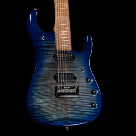 Ernie Ball Music Man JP15 7-String (Cerulean Paradise Flame)