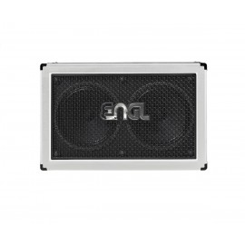 ENGL 2x12 PRO V30 Guitar Cabinet E212VH  Limited Edition White Tolex (Horizontal)