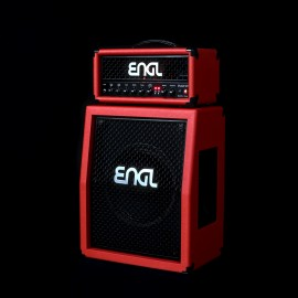 ENGL Fireball 25 Special Limited Edition Red Bronco 25W Tube Amplifier Head - E633SR