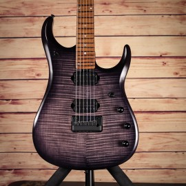 Music Man JP15 6-String Flame John Petrucci Signature (Trans Black Matte, 2018 Model)