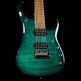 Music Man JP15 7-String John Petrucci Signature (Teal Flame - 2019 Model)
