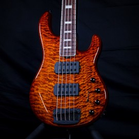 Music Man BFR StingRay 5 HH in Giants Orange Quilt (#84 of 91 Made)
