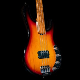 Ernie Ball Music Man BFR StingRay 4H Fretless Limited Edition Bass (Sierra Vintage Burst)