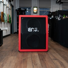 ENGL 2x12 PRO V30 Speaker Cabinet E212V (Vertical) (Limited Edition Red Bronco)