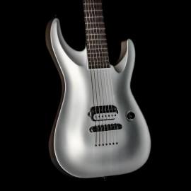 ESP Custom Shop Horizon 7-String Baritone Silver Satin