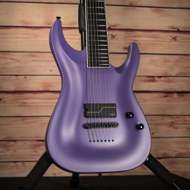 ESP STEF B7 Custom Shop Horizon 7-String 1 Hum Baritone (Purple Satin)