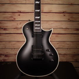 ESP Original Eclipse CTM Black Satin with Ebony Fingerboard (RARE MODEL)