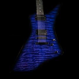 ESP Custom Shop James Hetfield Snakebyte Baritone (See-Thru Purple Sunburst)
