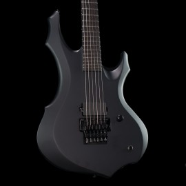 ESP LTD F Black Metal Black Satin with Ebony Fingerboard (Made in Korea)