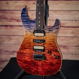 "ESP Custom Shop Snapper CTM FM ""Ocean Sunset Fade"" (NAMM 2019 Exhibition Guitar)"