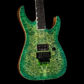ESP USA M-I FR NTB Lime Burst - Quilt Top, Ebony Fingerboard, Stainless Steel Frets