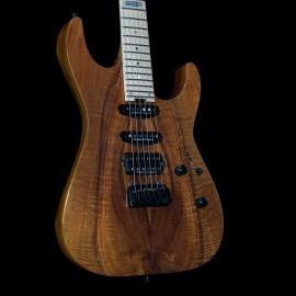 ESP USA M-III GT NAMM 2021 Flamed Koa Top, Ebony Fingerboard, Stainless Steel Frets