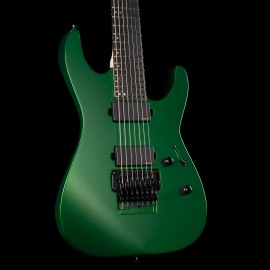 ESP USA M-7 FR - Candy Apple Green Satin, Maple Fingerboard, Stainless Steel Frets, EMG Pickups