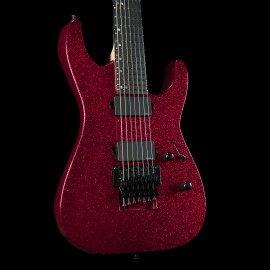 ESP USA M-7 FR - Red Sparkle, Ebony Fingerboard, Stainless Steel Frets, EMG Pickups